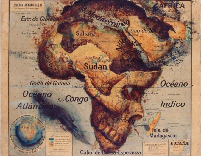 Atlante, le mappe artistiche di Fernando Vicente
